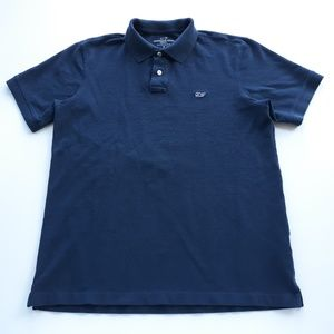 Vineyard Vines Mens Navy Polo Shirt Size S